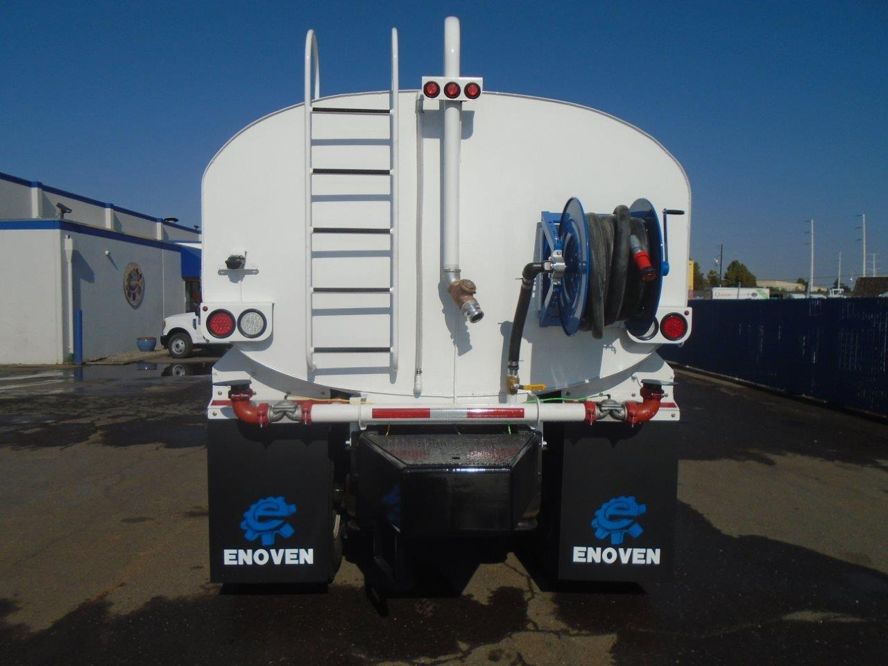 Water Trucks | Enoven Truck Body + Equipment